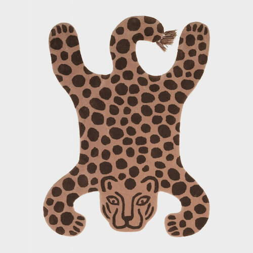Ferm Living Leopard Safari Tufted Rug