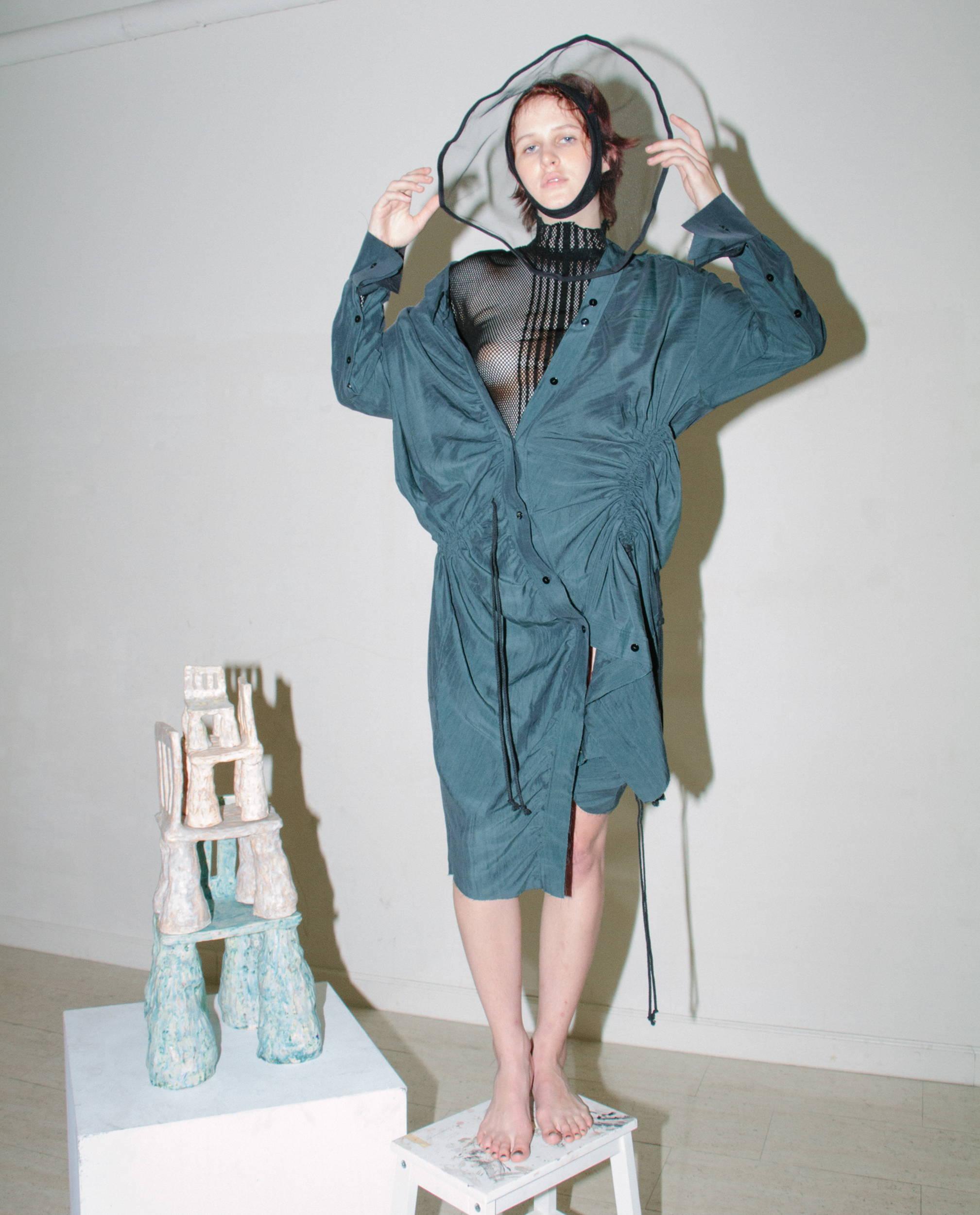Alessandra Marchi Shirt Dress SS18 - Hlorenzo