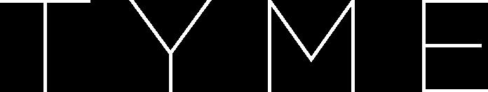 TYME logo in white