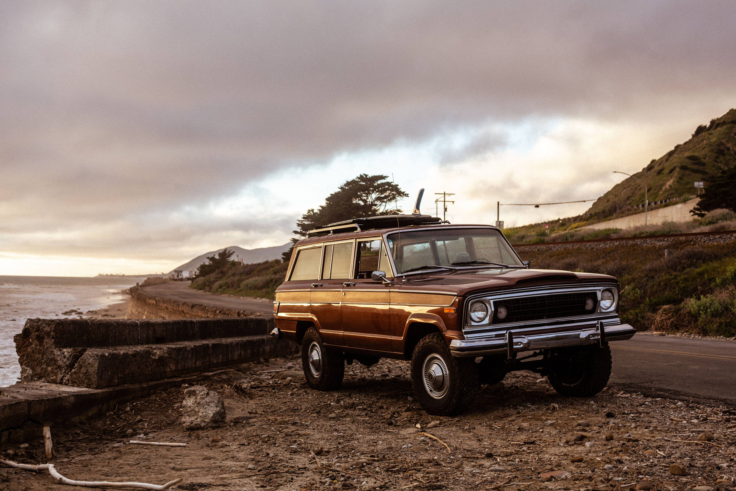 New Legend 4x4 x Iron & Resin 1978 Jeep Wagoneer Collaboration Build