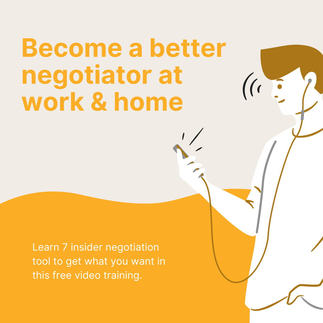 become a master negotiator training