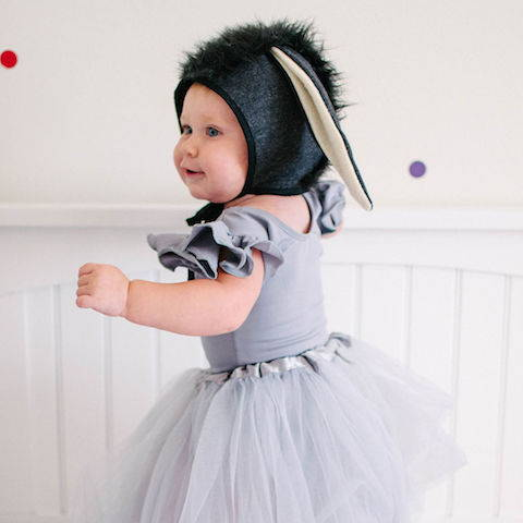 Eeyore Halloween costume for girls