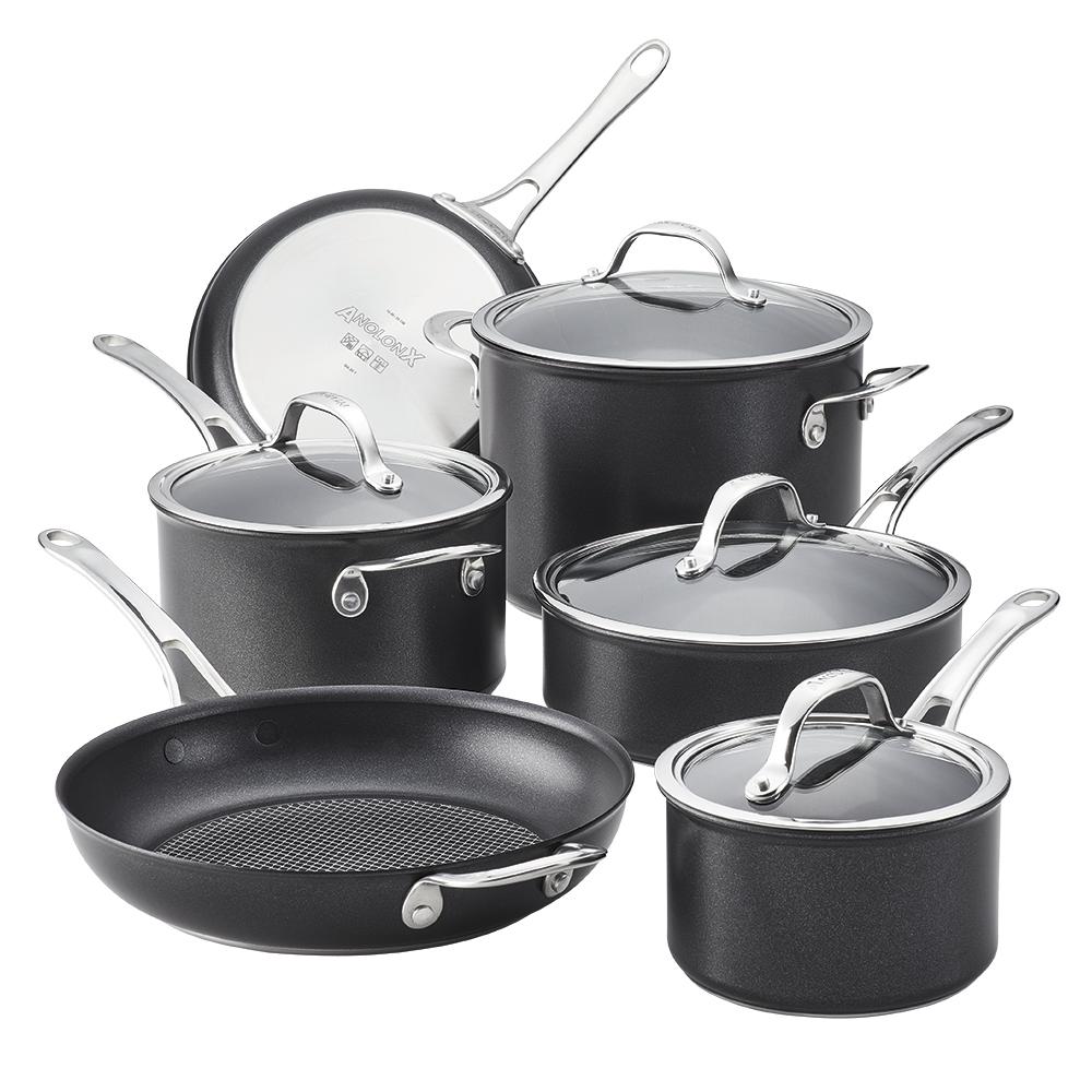 Anolon X 10-Piece Cookware Set