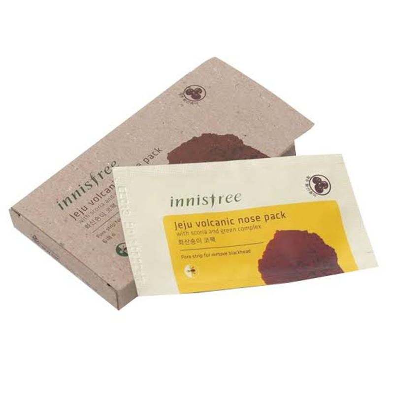 Innisfree  Jeju Volcanic Nose Pack (6 Sheets)