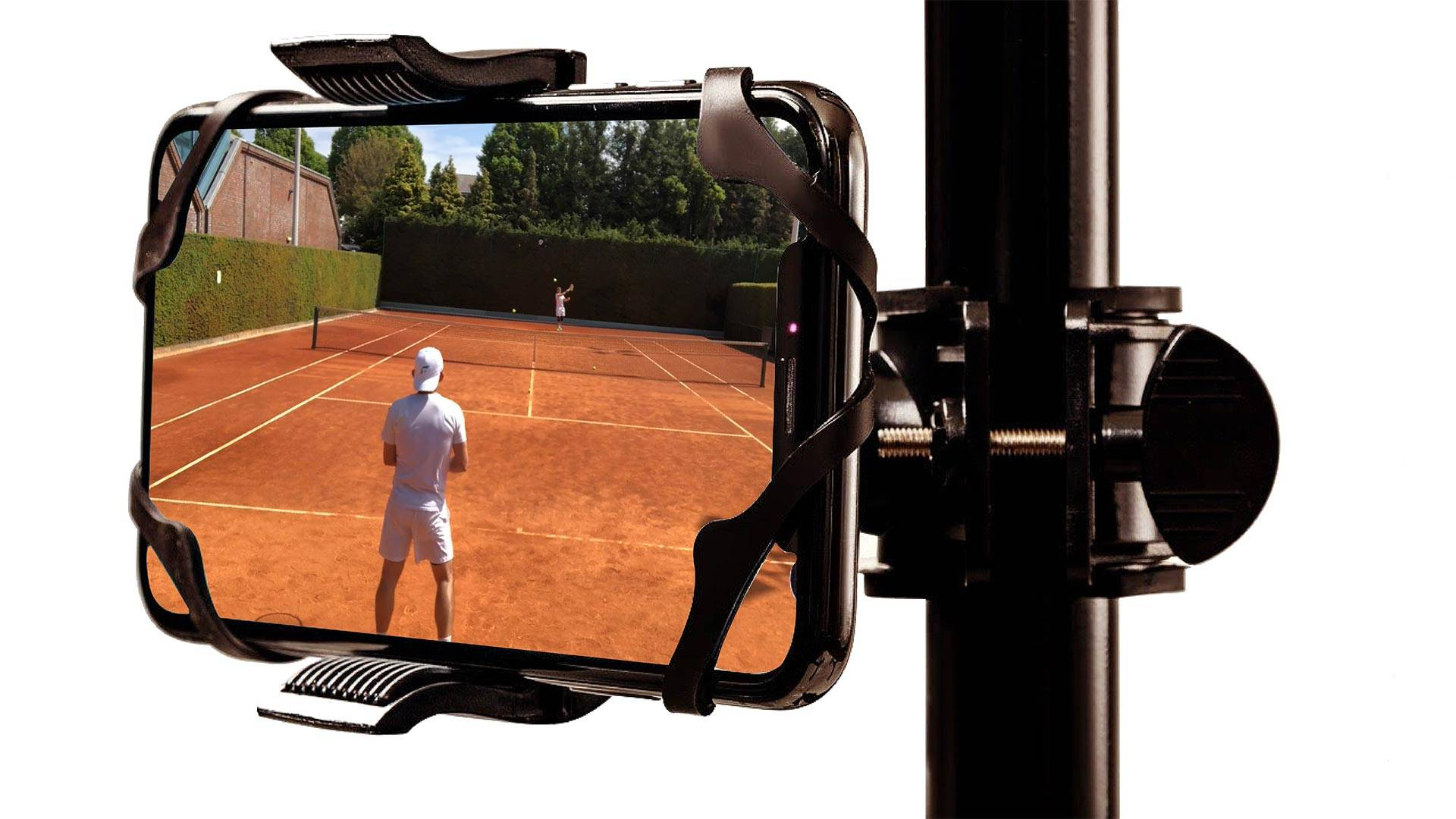 The camera mount for tennis players