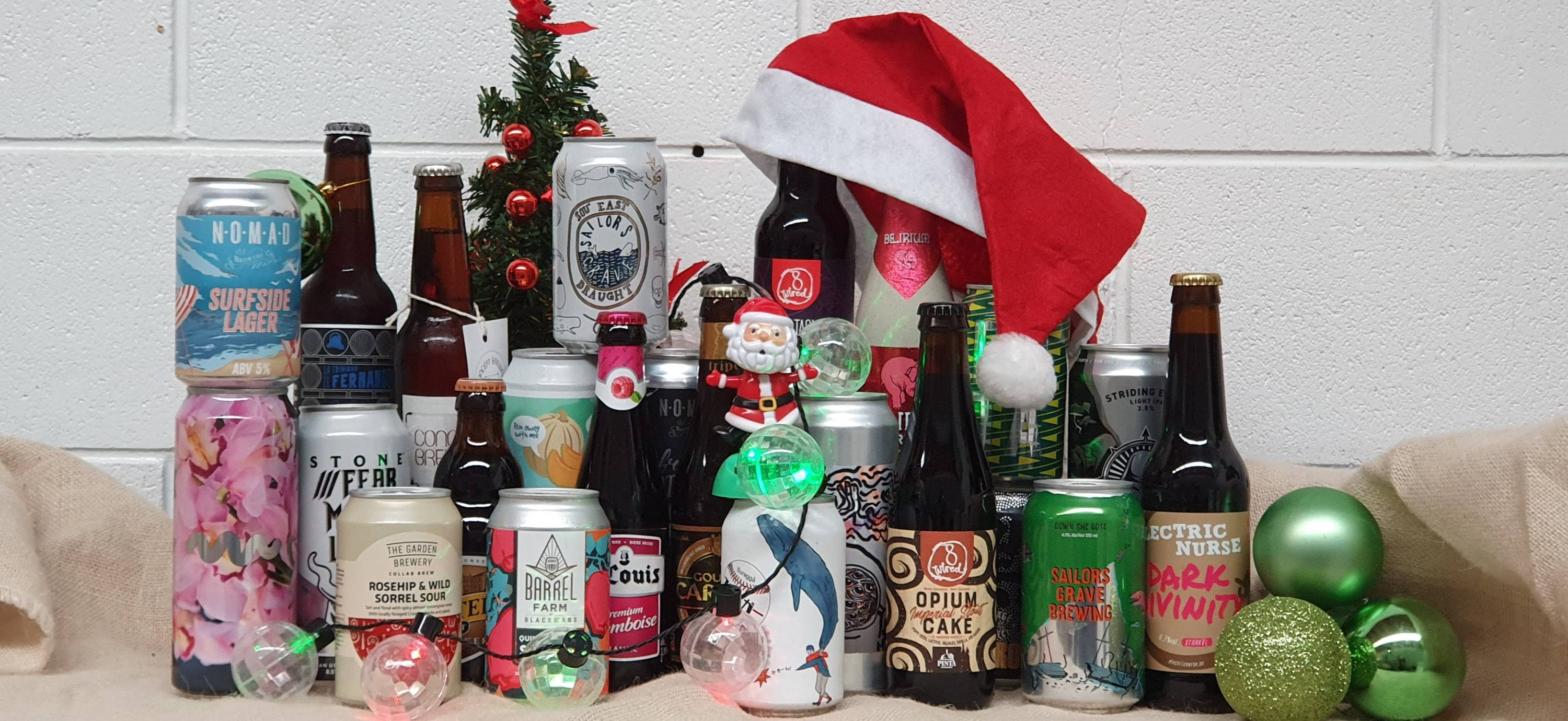 Christmas Beer.Christmas Craft Beer Advent Calendar 2019 Delivery Across