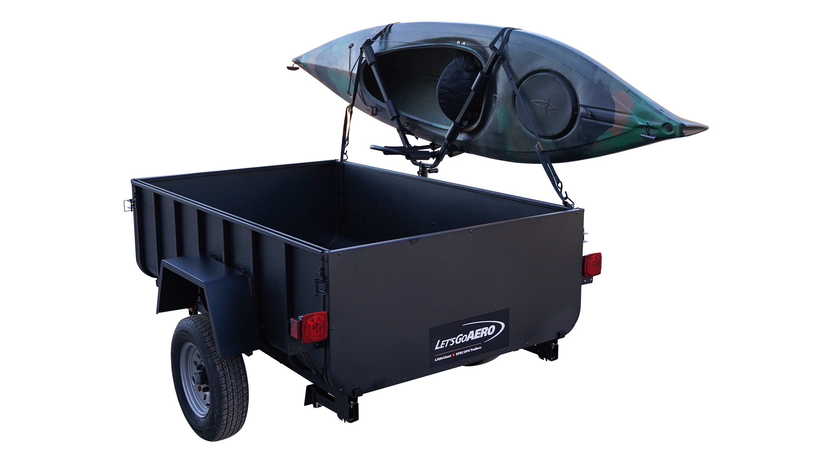 Boat, Kayak and Paddleboat Mount for LittleGiant Trailers
