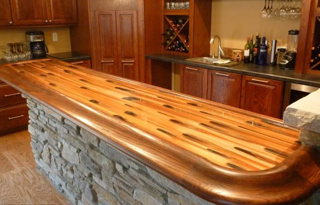 Bar Top with UltraClear Epoxy Resin