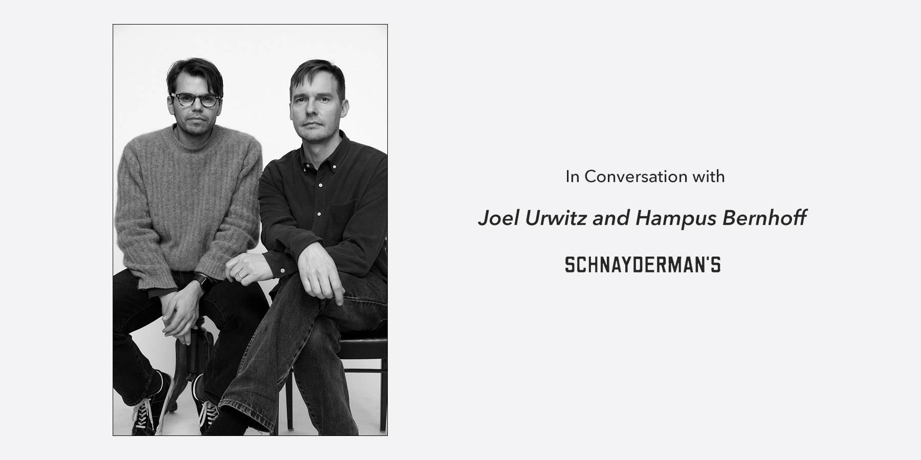 schnayderman's in conversation ss21