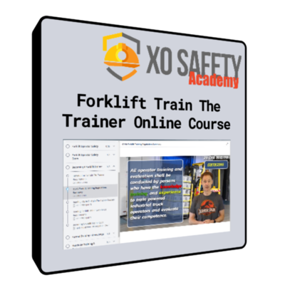Online Forklift Train The Trainer Course
