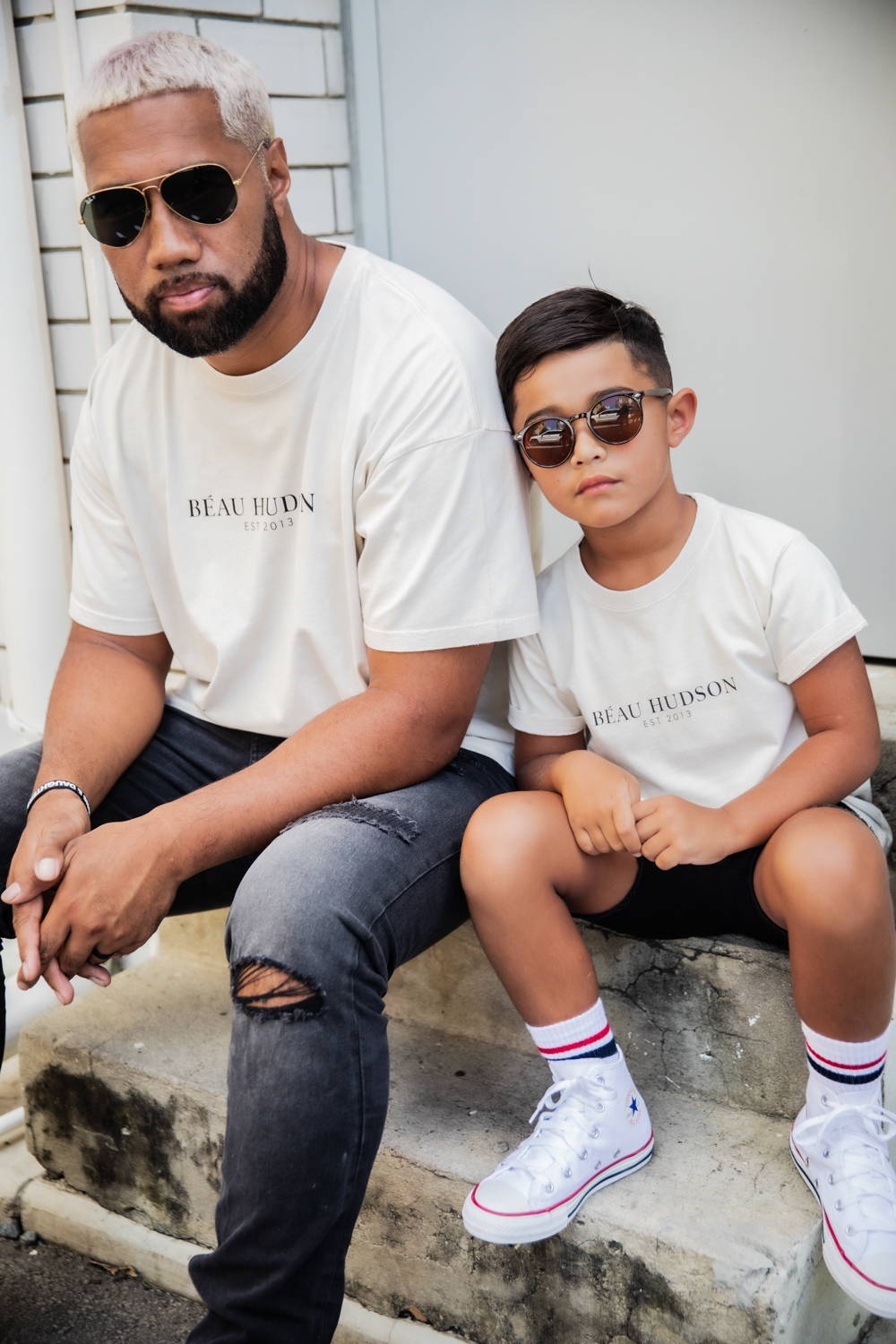 Dad and Son Twinning