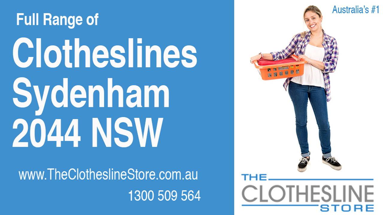 Clotheslines Sydenham 2044 NSW
