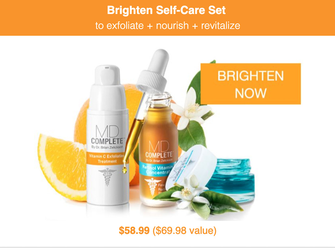 Brighten Self-Care Set