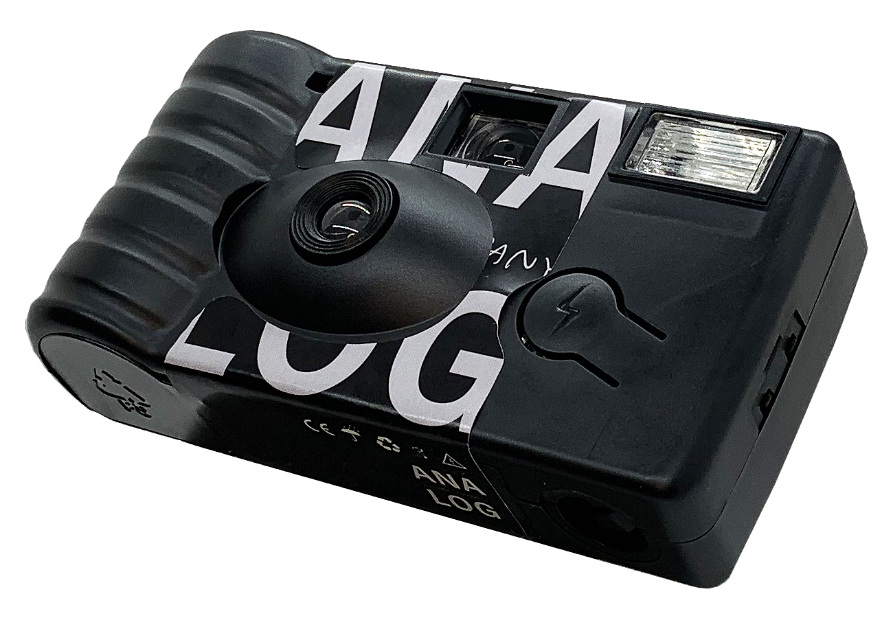 A Custom disposable camera by analog