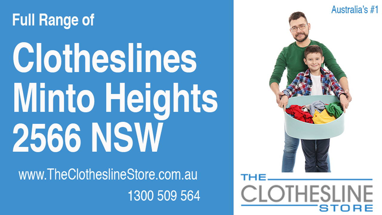 New Clotheslines in Minto Heights 2566 NSW