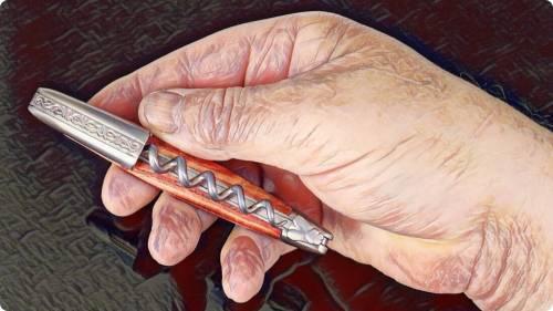 Forge de Laguiole Pinot Noir Waiter-Style Corkscrews