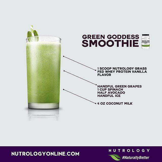 Nutrology Green Goddess Smoothie Recipe