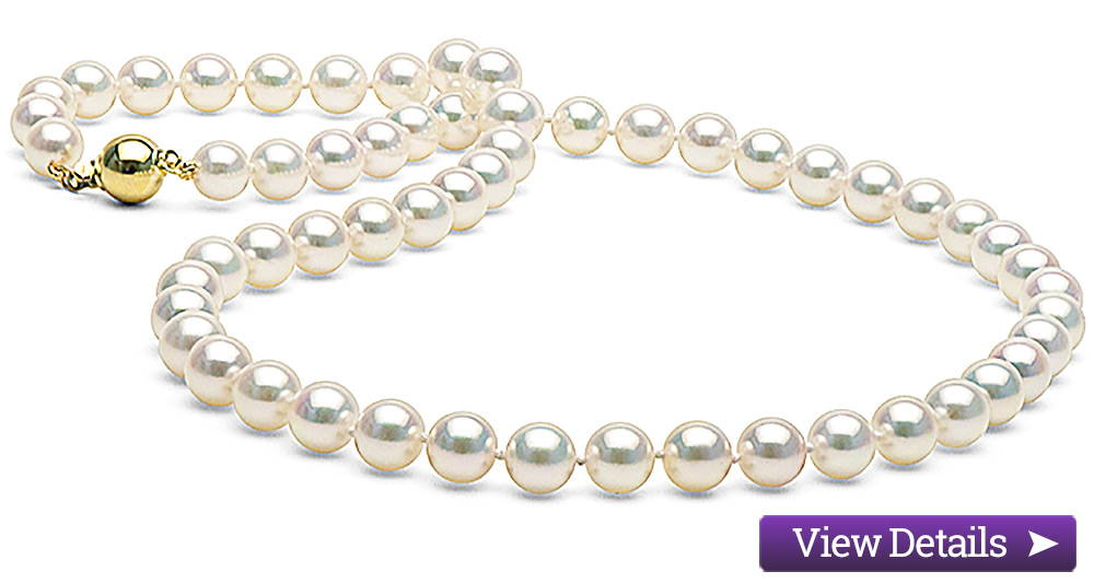 Akoya Pearl Jewelry Styles: Classic Pearl Necklace
