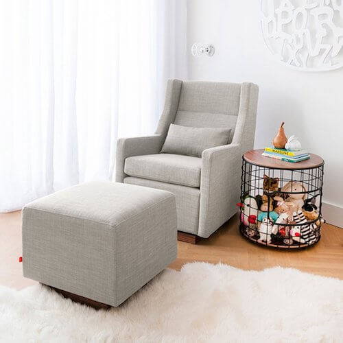 Gus Sparrow Glider and Ottoman