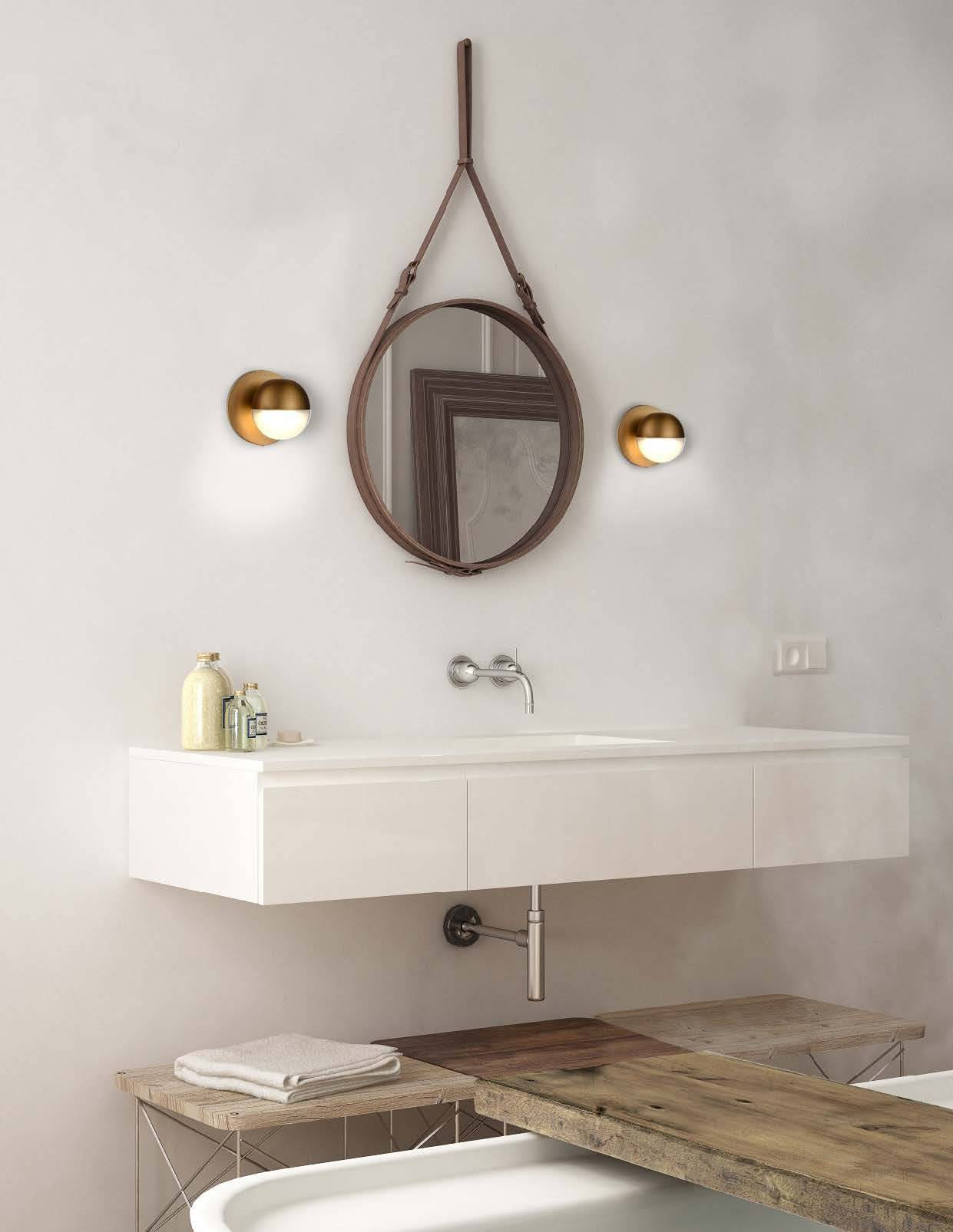 Kuzco Pluto Bath and Vanity Collection Bathroom Lighting