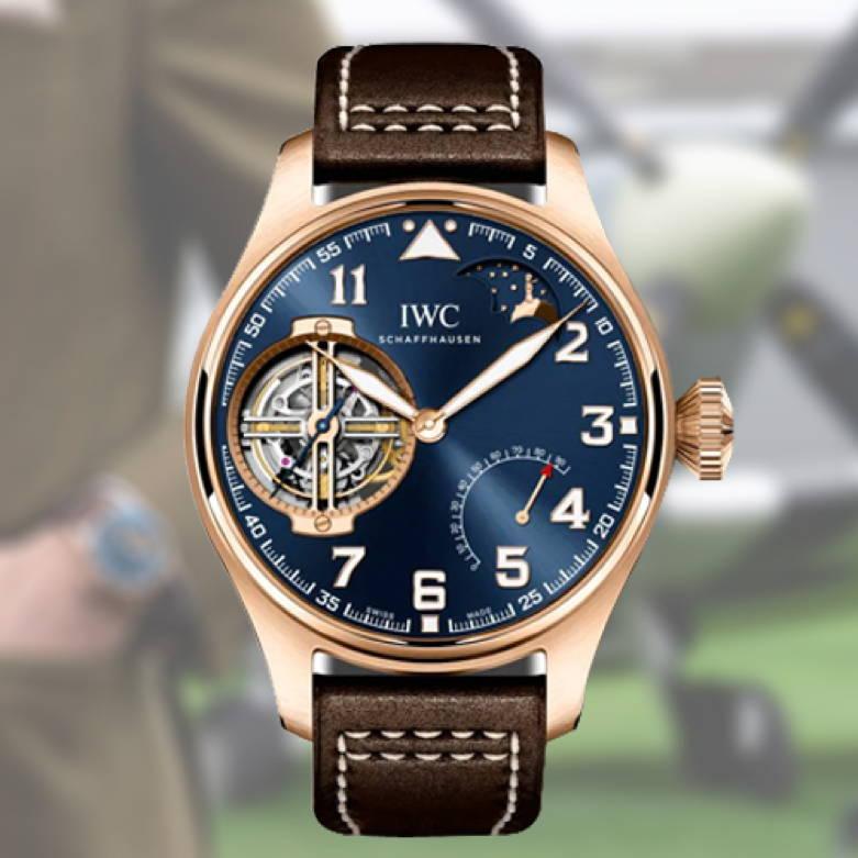 "IWC Tourbillon Edition ""Le Petit Prince"" Timepiece"