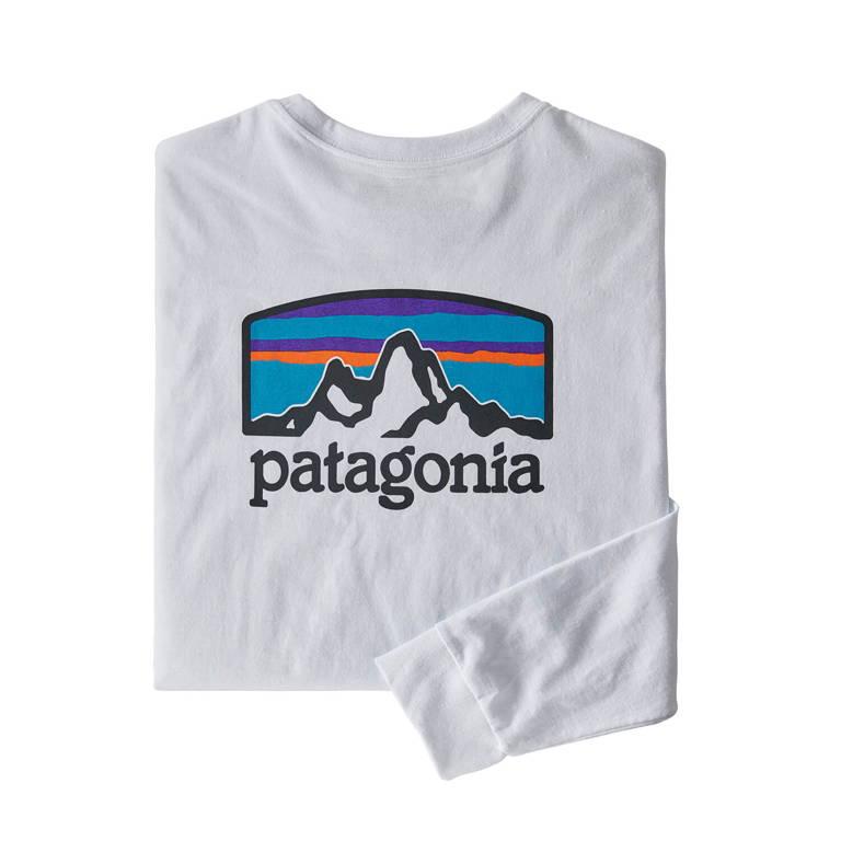 patagonia(パタゴニア)/ロングスリーブ フィッツロイ ホライゾンズ レスポンシビリティー/ホワイト/MENS