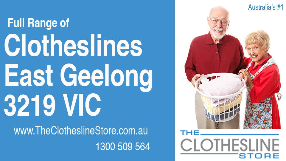 New Clotheslines in East Geelong Victoria 3219