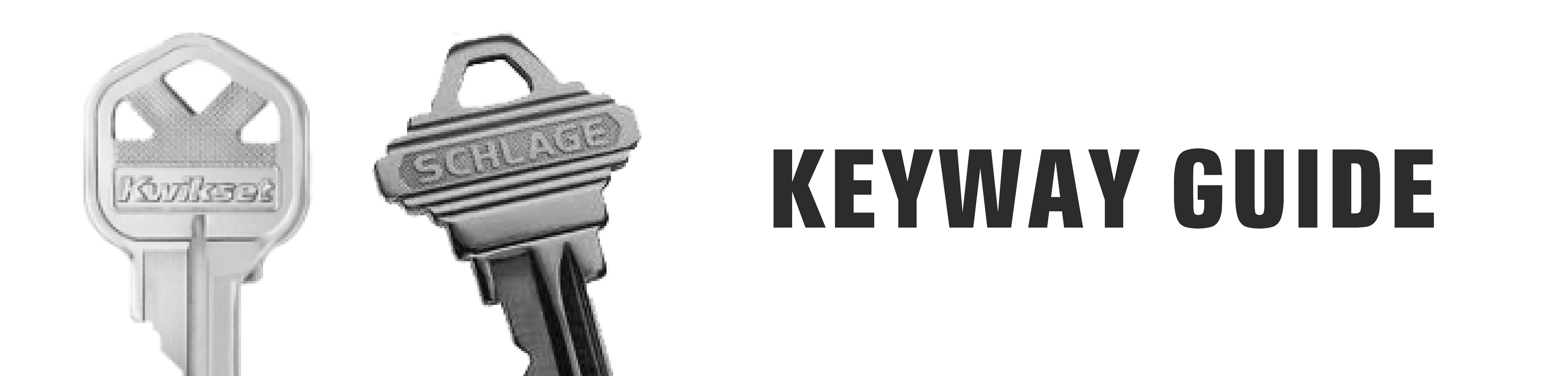 Keyway Reference Guide – Hero's Armory