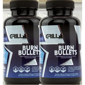 Burn Bullets Twin pack