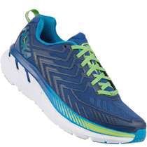 Hoka One One Clifton 4 Wide Mens [ True Blue - Jasmine Green ] M1016779-TBJGR
