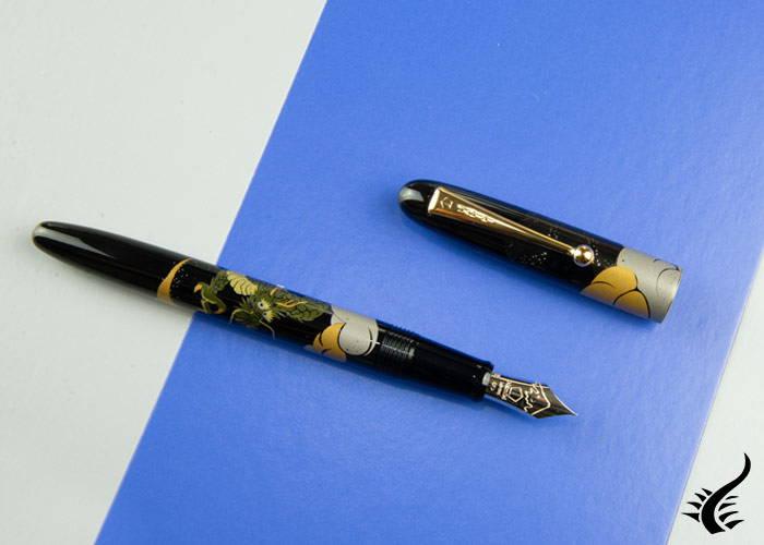 Namiki Maki-e Nippon art Fountain Pen Dragon & Cumulus