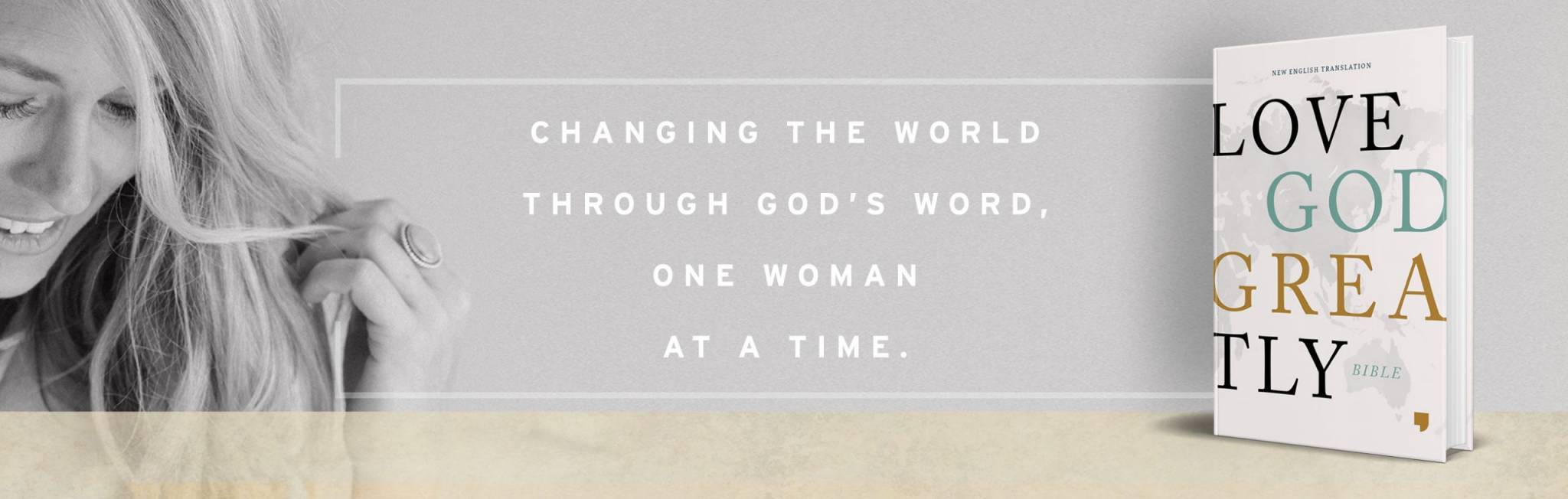 Changing the World Through God's Word, One Woman at a Time