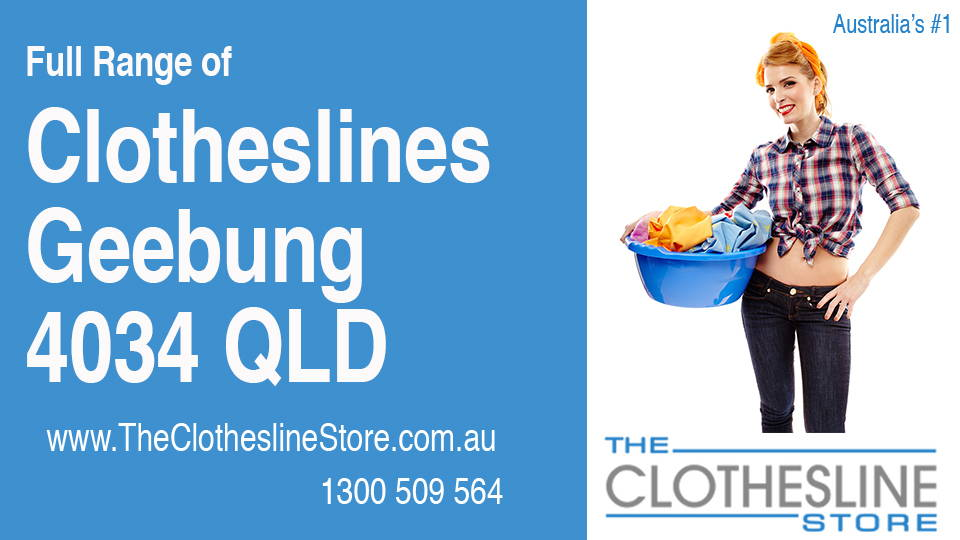 New Clotheslines in Geebung Queensland 4034