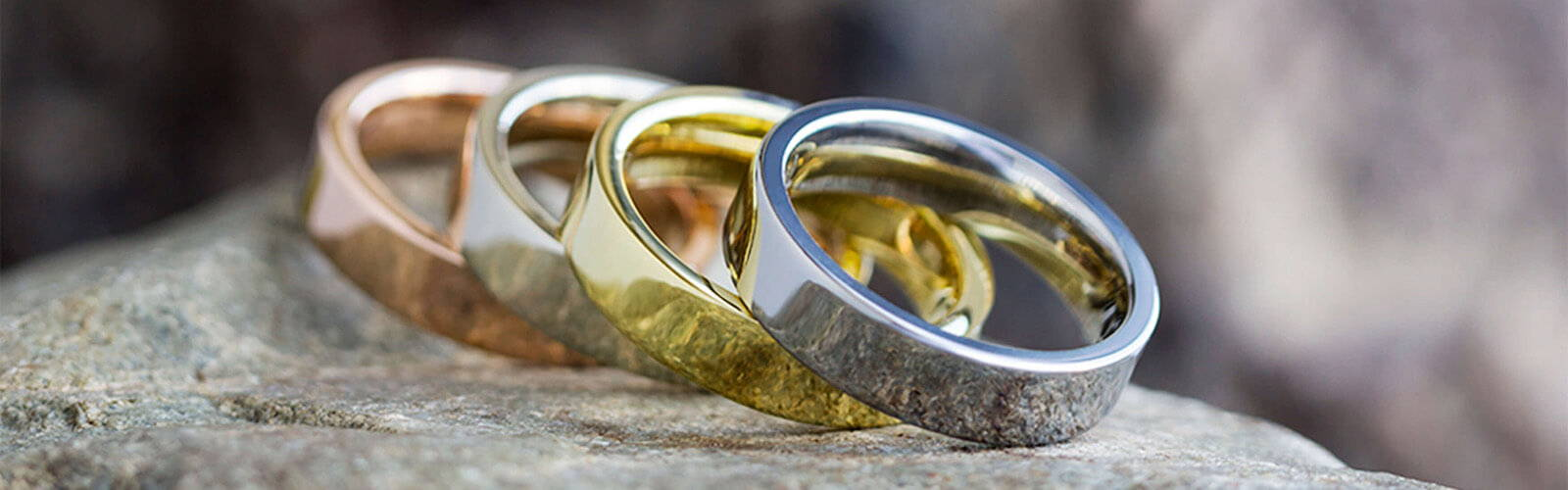 Gold Rings in All Colors