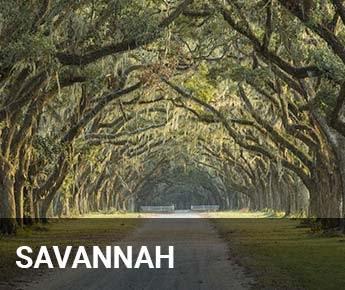 Travelbay USA Tours - USA Tailor Made Tours - Savannah