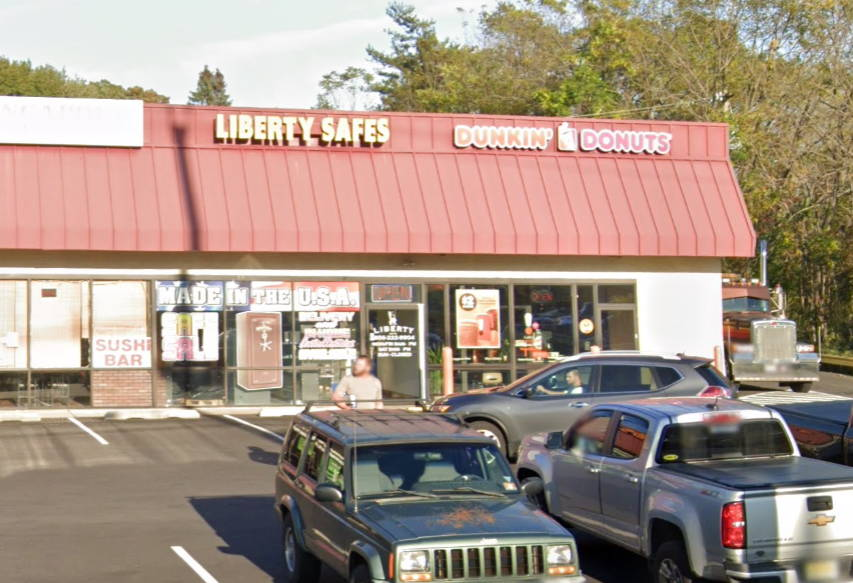 Store front Liberty Safes of New Jersey