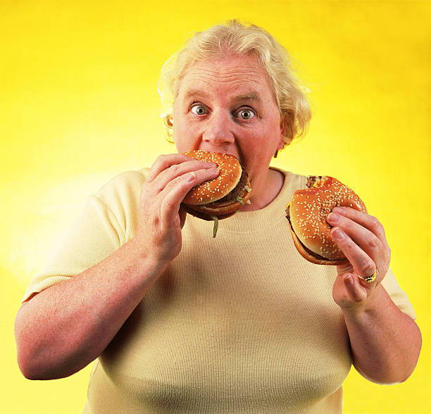 Fat Woman Food Craving