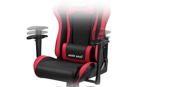 highly adjustable 2D armrests
