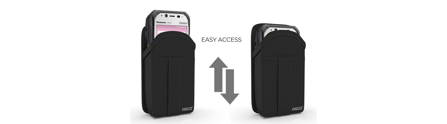 Panasonic Scanner Case with Credit Card Slot