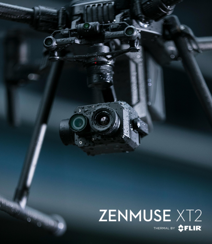 DJI Zenmuse XT2   Dr Drone