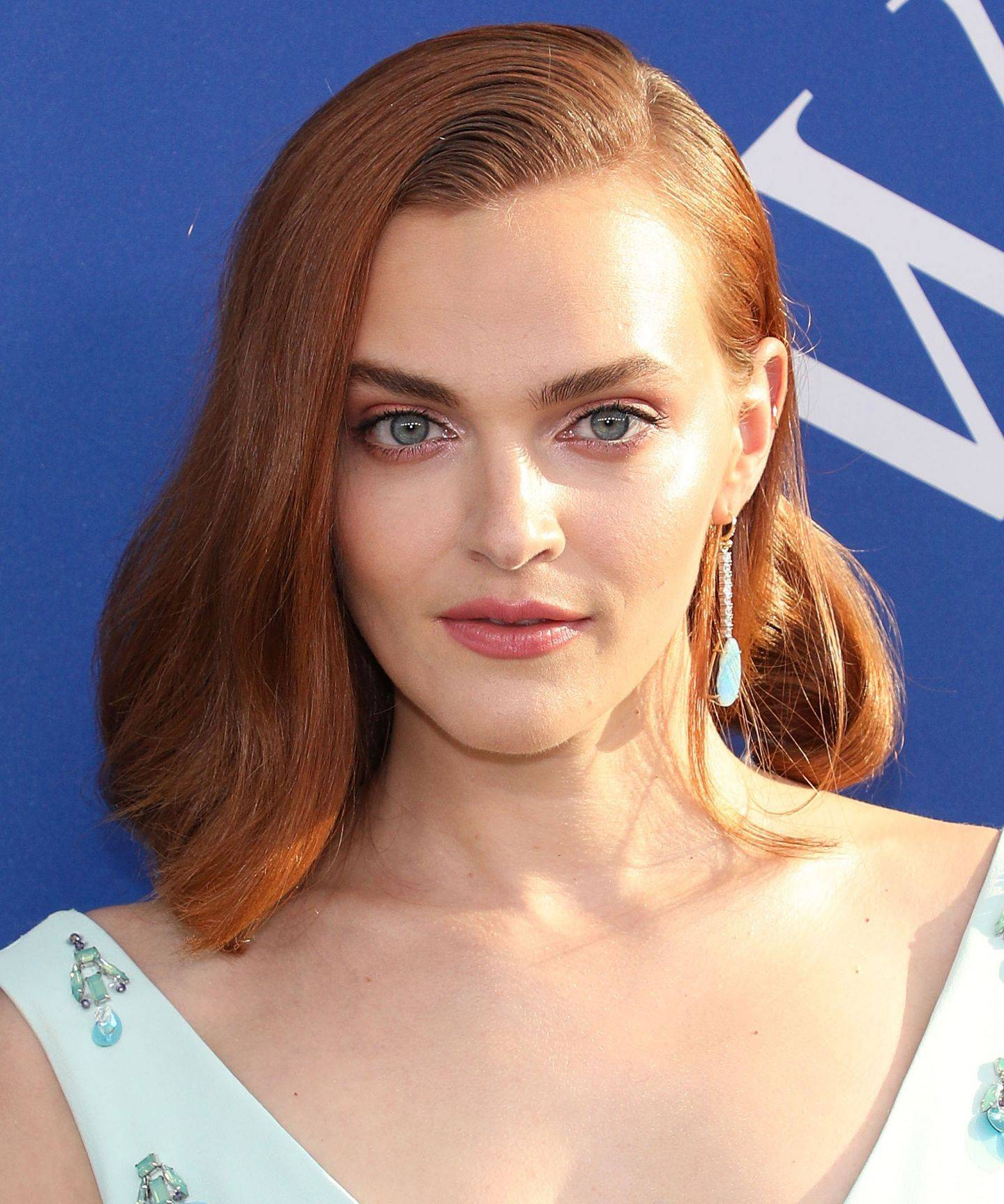 Madeline Brewer with curly hair
