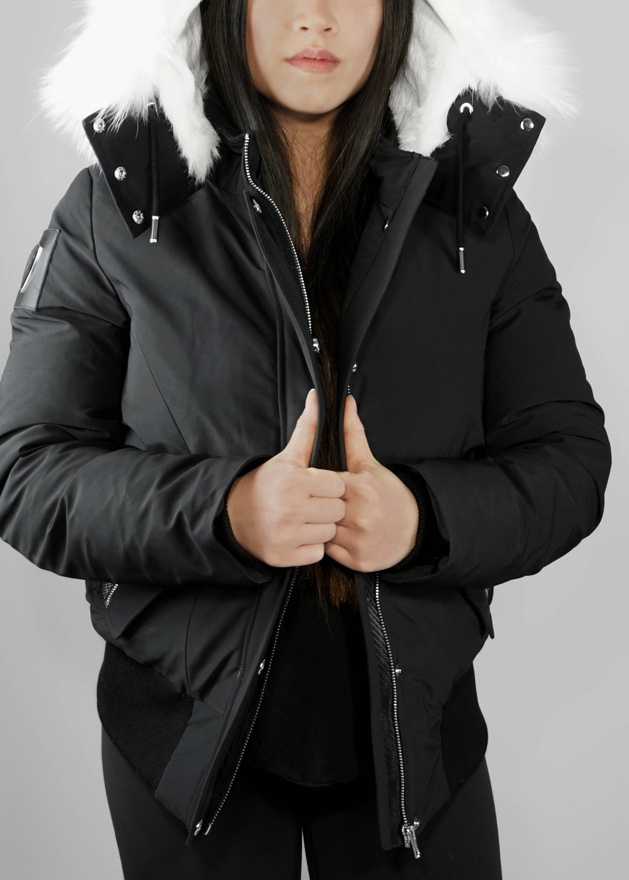 Carbonesque womens Bianca parka