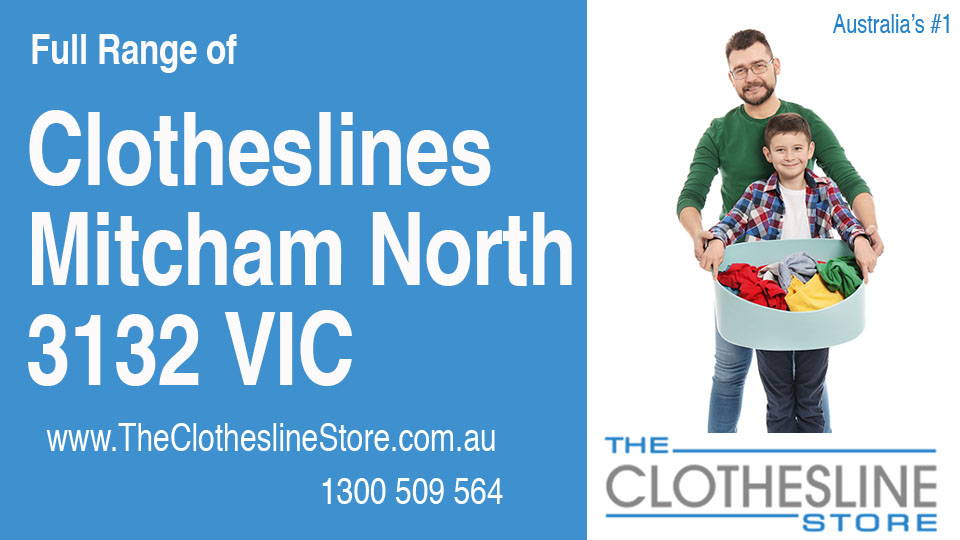 New Clotheslines in Mitcham North Victoria 3132