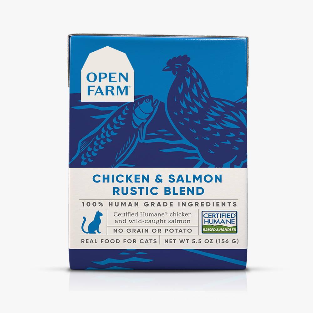 Chicken & Salmon Rustic Blend