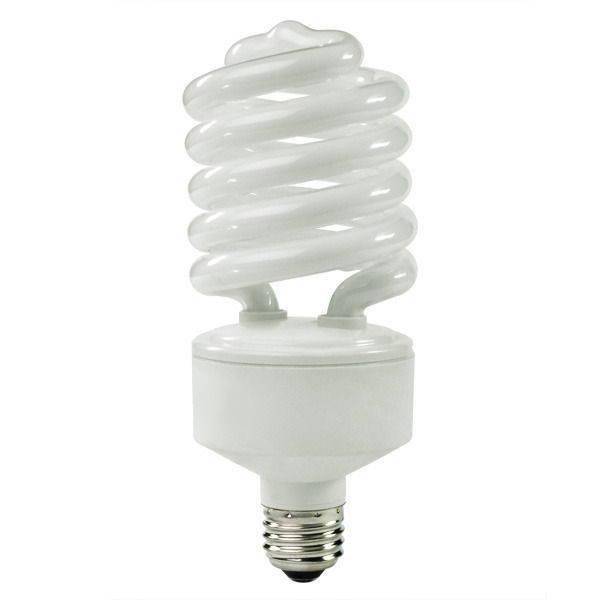 Compact Fluorescent Spiral Light Bulb
