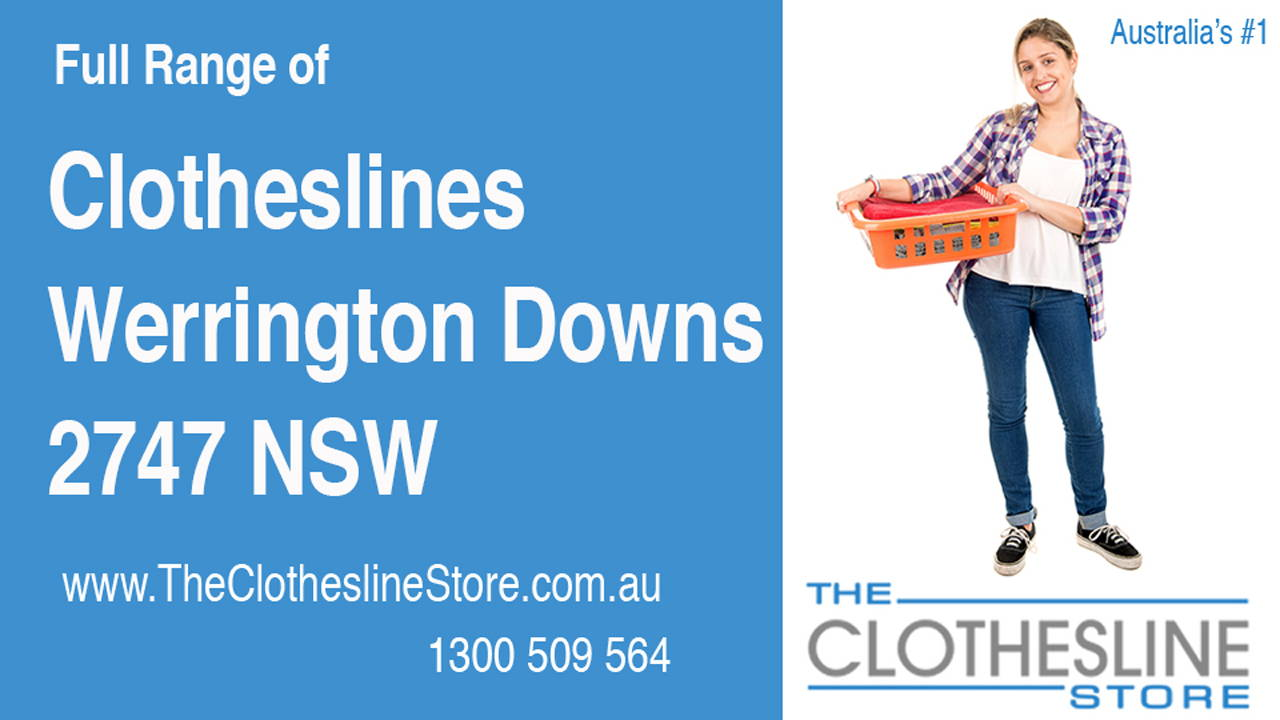 New Clotheslines in Werrington Downs 2747 NSW