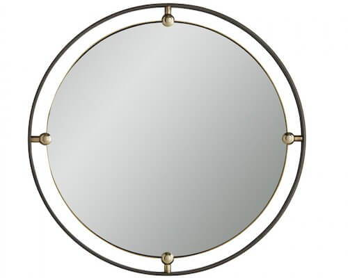 This round modern mirror makes our top 10.