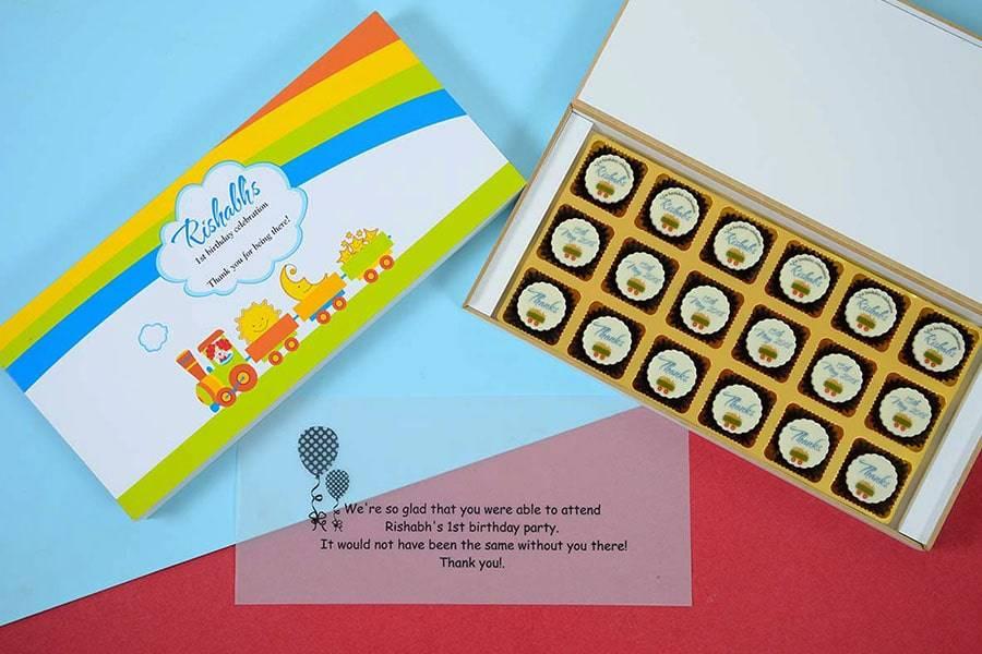 First Birthday Return Gifts – CHOCOCRAFT
