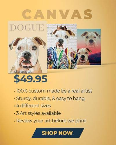 Pop Your Pup Canvases