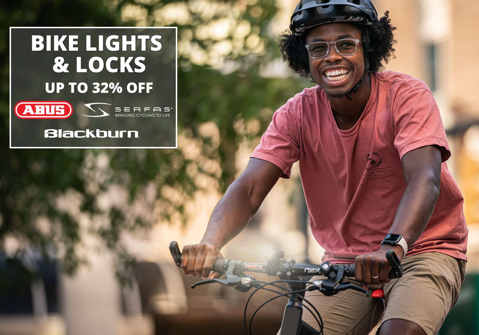 Bike Lights & Locks